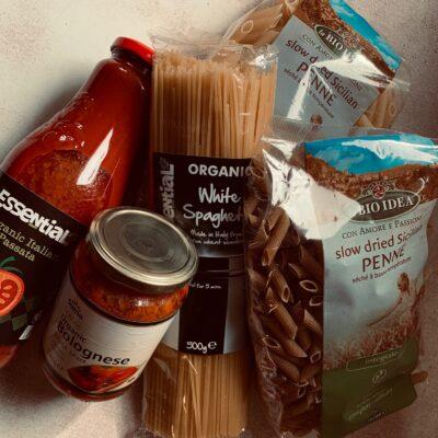 Pasta, Pulses, Rice